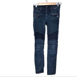Hudson Jeans Blue Denim Patchwork